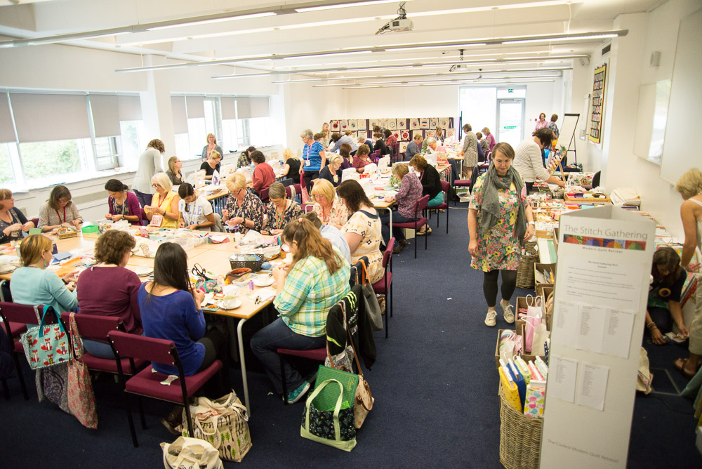 stitch gathering 2014 classroom