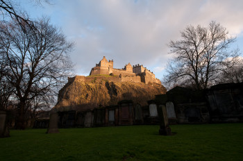 Edinburgh Castle by Jonathan Avery