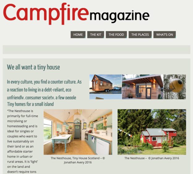 Campfire magazine article.