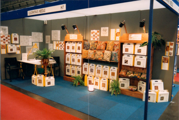 Cleopatra's Needle Exhibition Stand NEC 1991