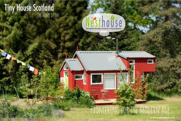 The Nesthouse from Tiny House Scotland.
