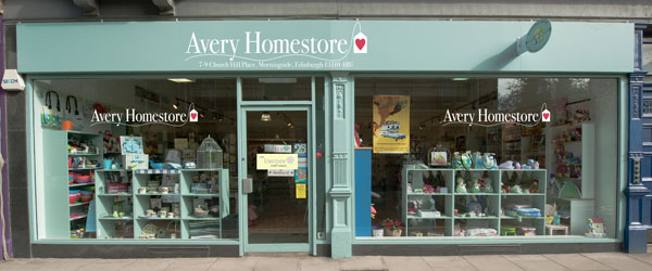 Avery Homestore at Church Hill Place, Edinburgh