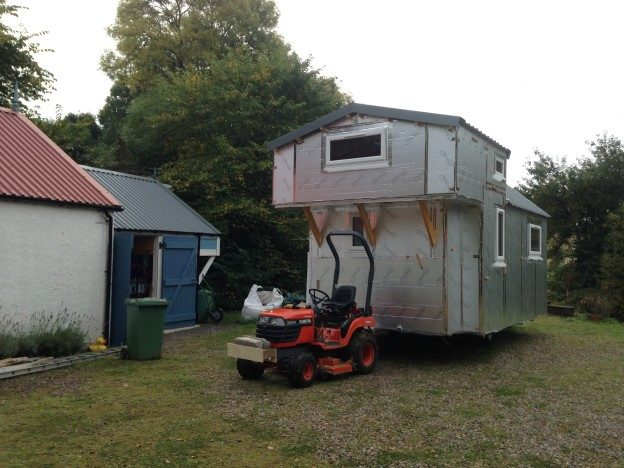 The Moveable Small House…actually moves!