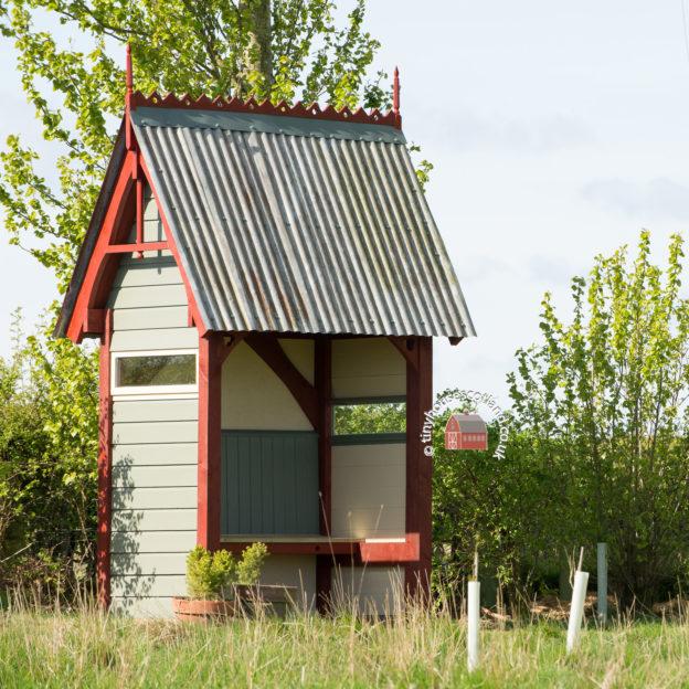 tiny house Scotland Gothic arbour