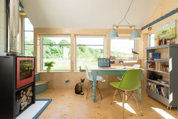 Tiny House Scotland's Nesthouse - designed and built by Jonathan Avery.